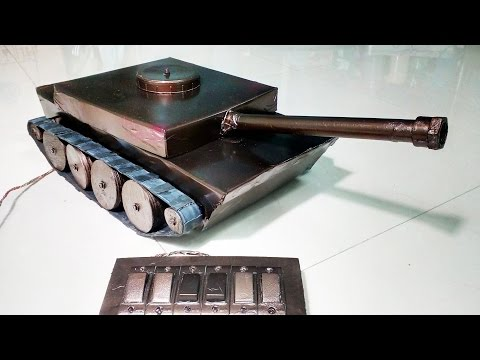 How to Make a Battle Tank - Remote Controlled