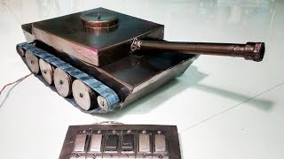 How to Make a Battle Tank - Remote Controlled(, 2016-04-16T03:15:31.000Z)