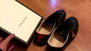 e8e7210f021 Gucci Ace Bee Sneakers Real Vs Fake