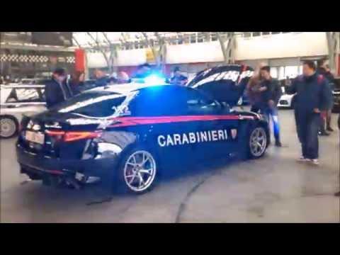 Alfa Romeo Giulia Carabinieri in pista