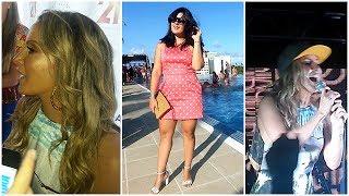 Vlog - Pool Party de Claudia Leitte (beijo de Claudinha, #claudinhabagunceira e +)  por Tuka Sampaio
