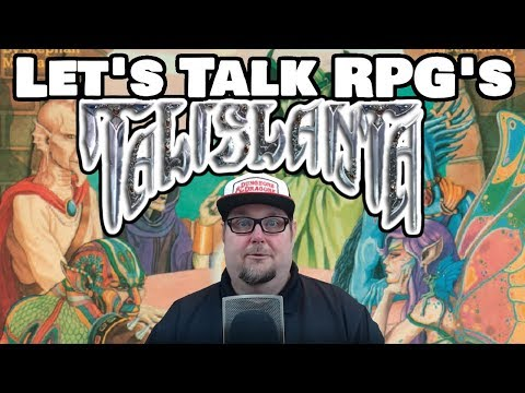 Let's Talk RPG's With The Digital Dungeon Master --- Talislanta