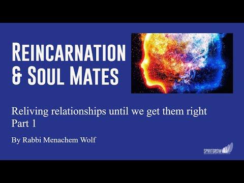 Transcendental Kabbalah  Reincarnation and Soul Mates - Part 1 - By Rabbi Menachem Wolf  13/02/2017