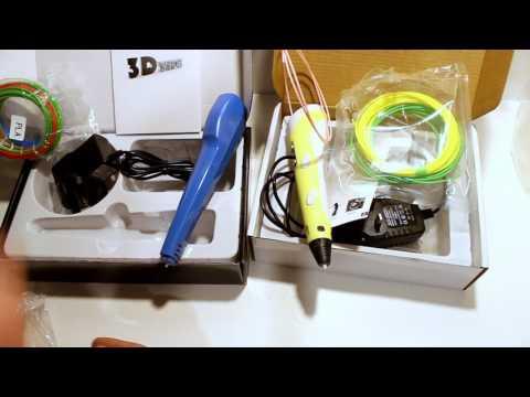 3D Printer Pens - Review - Comparison - Tutorial