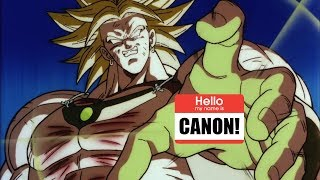 "Broly Is Now ""Canon"""