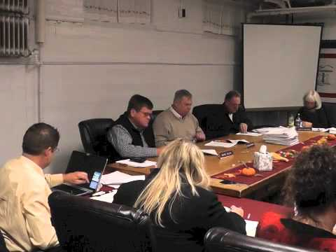 Ticonderoga Town Board Meeting  11-13-14