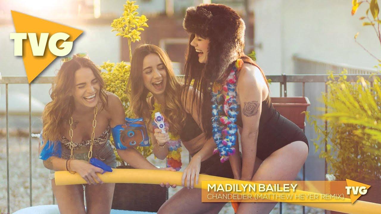 Madilyn Bailey - Chandelier (Matthew Heyer Remix) - YouTube
