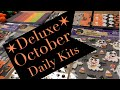 **ALL SOLD** ✶Deluxe✶ October Daily Kits for sale!