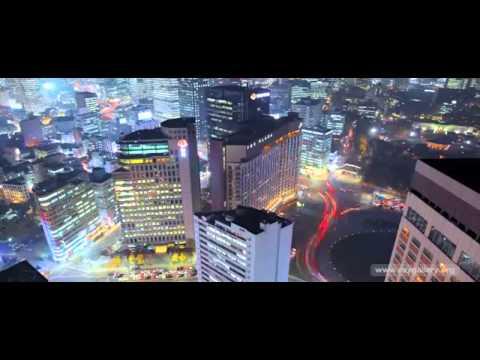 The Lights of Seoul, South Korea