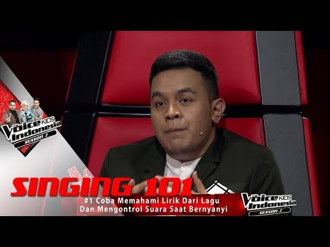 IT'S SCHOOL TIME PART 1   Singing 101   The Voice Kids Indonesia S2 GlobalTV 2017