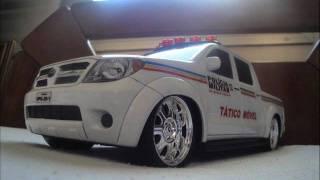 Miniatura Toyota Hilux PMMG (Policia Militar) - Pedidos por encomenda