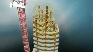 Burj Khalifa (Burj Dubai) Construction - Animation - U.A.E.