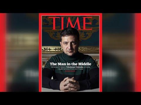 Зеленський на обкладинці Time