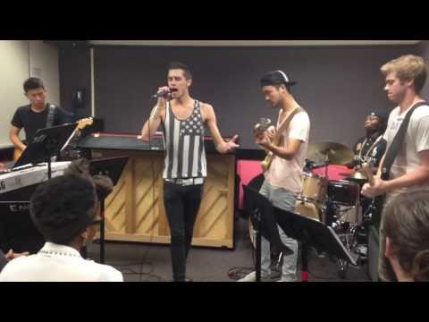 The Gap Band - Yearning for your love (Berklee R&B Ensemble)