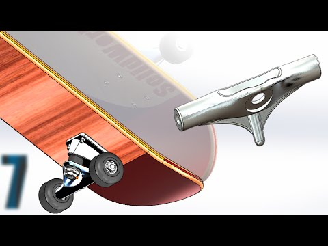 7 SolidWorks |SkateBoard|: Main Axle
