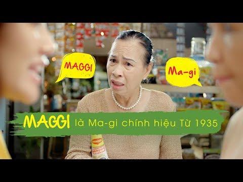 MAGGI là Ma-gi chính hiệu từ 1935