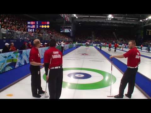 Denmark vs USA - Men's Curling - Complete Event - Vancouver 2010 Winter Olympic Games