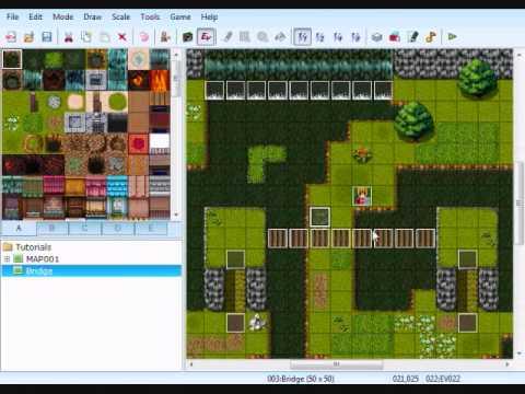 RPG Maker VX Tutorial - Bridge/Overpass