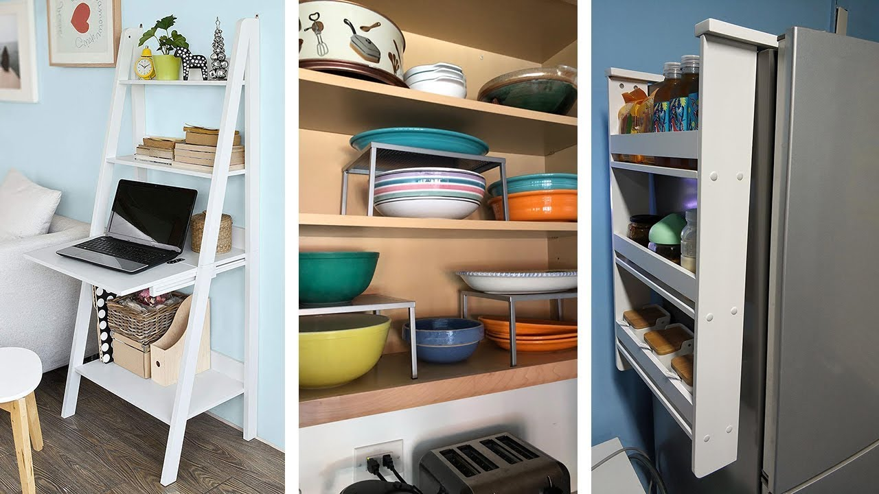 22 Super Storage Ideas for Small Apartments - YouTube