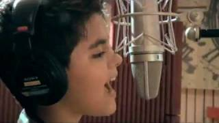 "Abraham Mateo  "" Vuelve conmigo"" Autores : Calderon y Calleja . ( First album Single ) ."