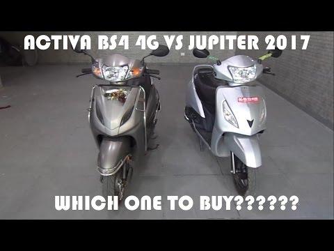 activa 2017 vs jupiter 2017 | activa 4g vs jupiter 2017 | activa vs jupiter |