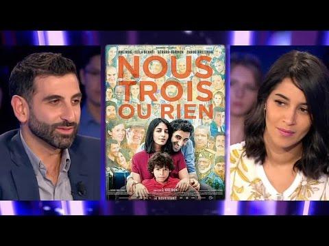 Leila Bekhti et Kheiron - On n'est pas couché 31 octobre 2015 #ONPC