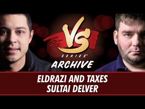 10/23/2017 - Tom Vs. Todd: Eldrazi and Taxes Vs. Sultai Delver [Legacy]