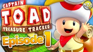 Captain Toad Treasure Tracker Gameplay Walkthrough - Episode 1 - Toad's Adventure! Nintendo Switch