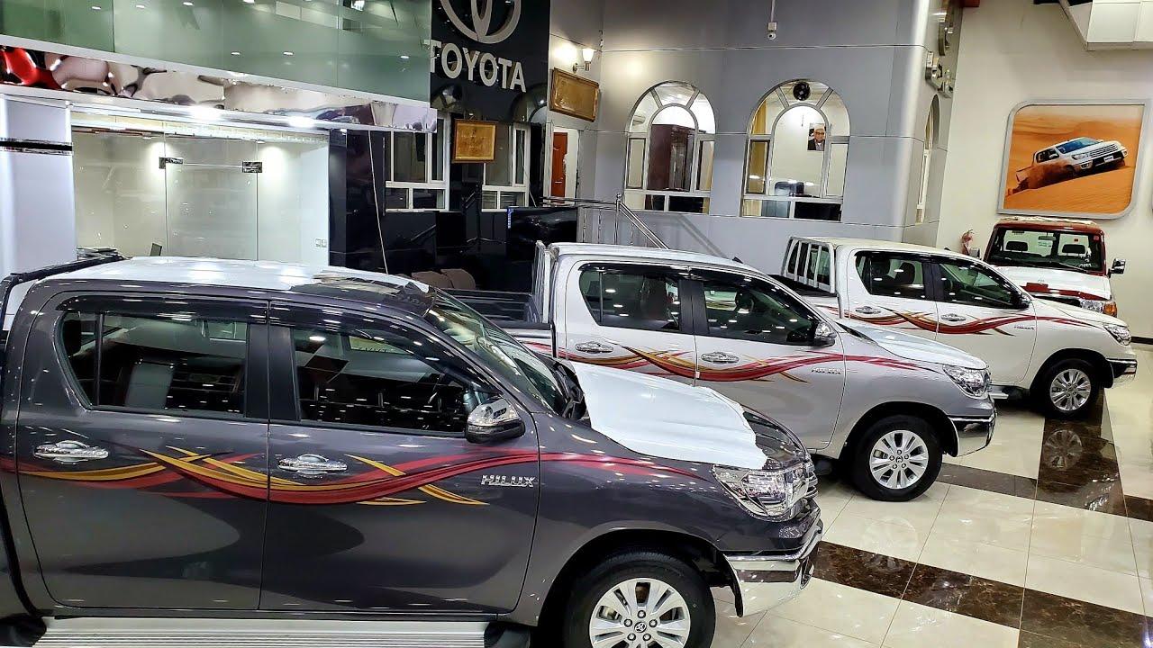 اجمل ثلاثة الوان ل هايلوكس 2021 سنجل بازرعه 😍 البحرين للسيارات