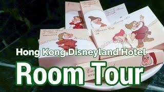Hong Kong Disneyland Hotel Deluxe Room Tour