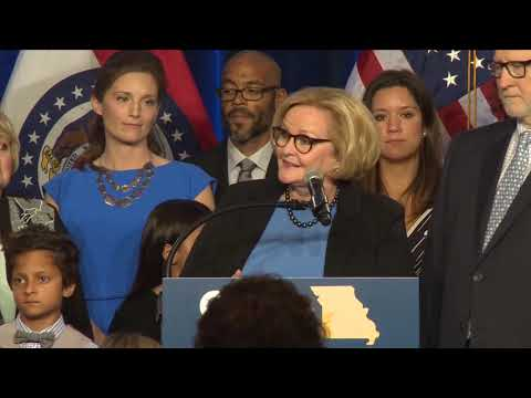 Claire McCaskill concedes Missouri Senate race: 'It has been such an honor'