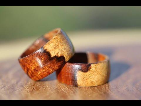 Simple Turnings: Desert Ironwood Burl Ring + Friction Polish