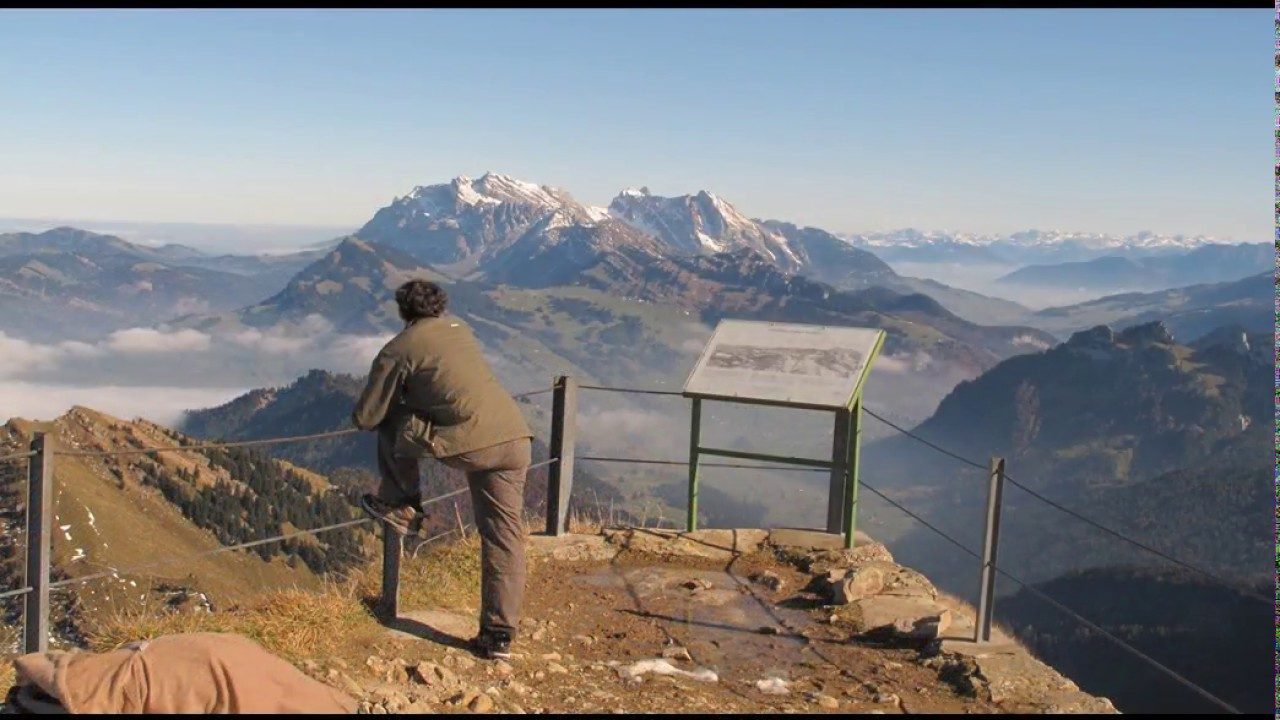 Klettersteig Speer : Via klettersteig zum speer youtube