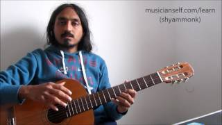 How to Map Common Western Scales in Carnatic Indian Raga Notation