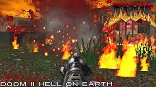 Brutal Doom 2 Enhanced v19 - Levels 7-11 [HD]