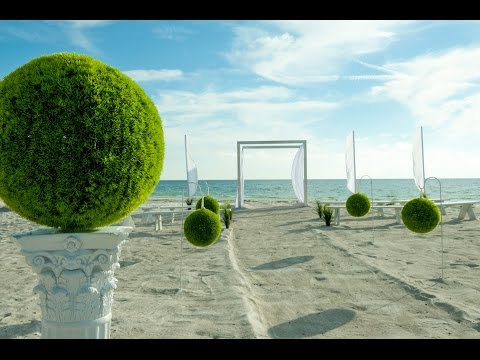 New 'Miami Modern' Wedding Package: Gulf Beach Weddings