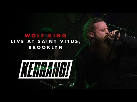 WOLF KING: Live at Saint Vitus in Brooklyn, New York