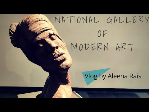[Vlog-1] A Visit To National Gallery Of Modern Art, Delhi, India [Aleena Rais]