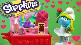 Smerfy • Wielkie Zakupy Smerfetki • Shopkins • Bajki dla dzieci