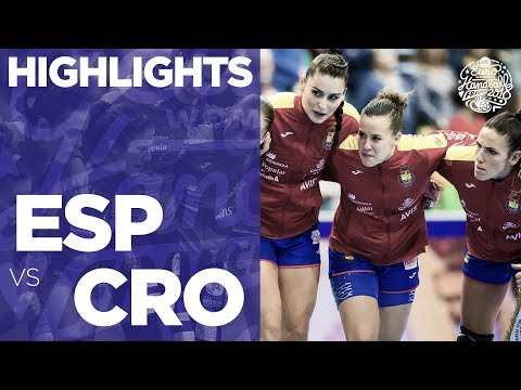 Spain vs Croatia | Highlights | Women's EHF EURO 2018
