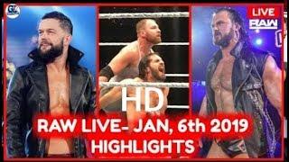 wwe raw 6 january 2019 highlights full show royal rumble highlights 2019 hd