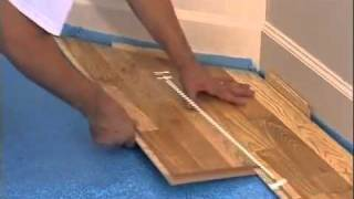 Kahrs Hardwood Flooring Installation Video   Kährs
