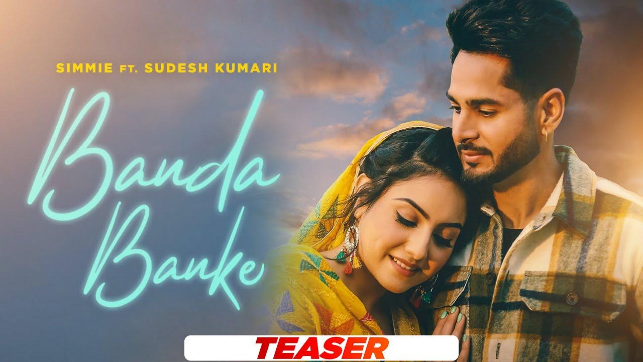 Banda Banke (Teaser)   Simmie ft Sudesh Kumari   Sync   Latest Punjabi Songs 2021   Speed Records