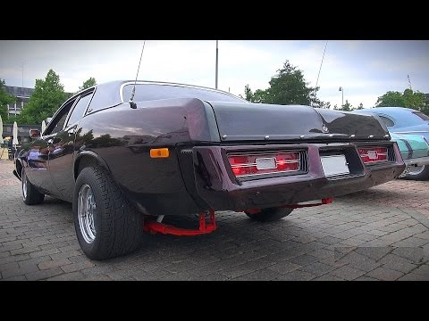 Custom Dodge Coronet Brougham - Great V8 Sound!