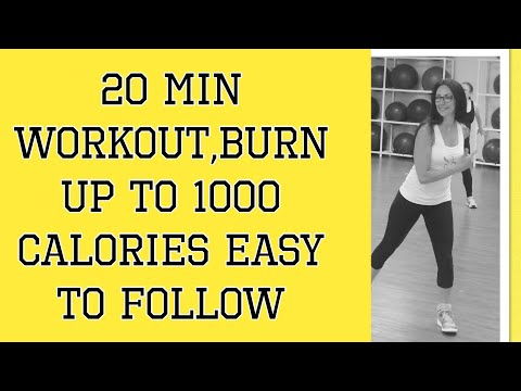 25 Min Cardio workout - Burn up to 1000 calories - Easy to Follow - by Danielle's Habibis