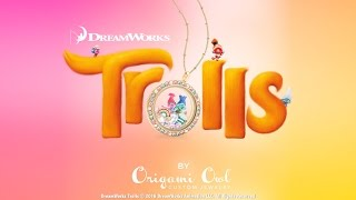 New DreamWorks Animation Trolls Collection by Origami Owl®