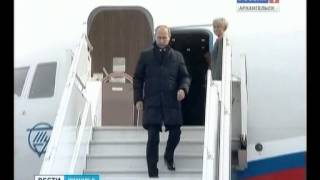 Визит Владимира Путина в регион