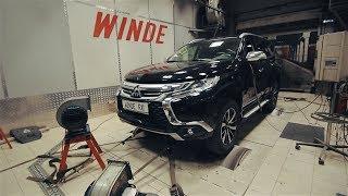 На сколько Mitsubishi программно душат новый двигатель Pajero Sport 2.4 л дизель