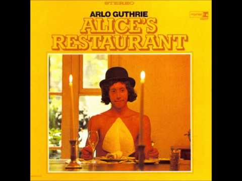 Arlo Guthrie  Alices Restaurant Full Album  1967 Stereo