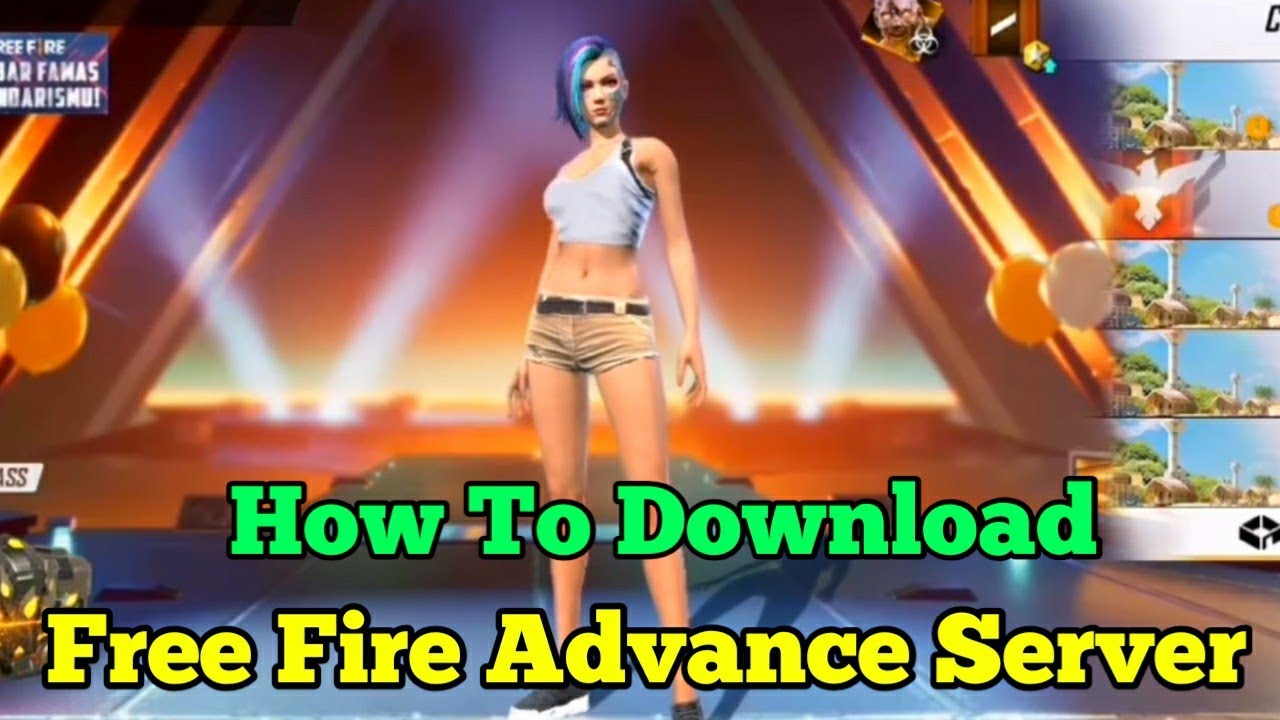 How To Get Free Fire Advance Server Apk Link Tricks Tamil How To Download Advance Server Apk Link Youtube